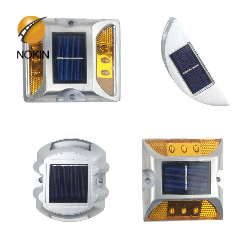 Abs Solar LED Road Stud Cost Synchronous Flashing-LED